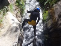 Canyoning in the source of the Duratón 2- 3 hours