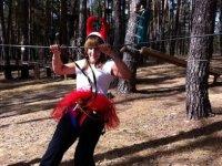 Parque de cuerdas en Soria