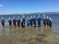 Snorkel en el campamento de Pontevedra