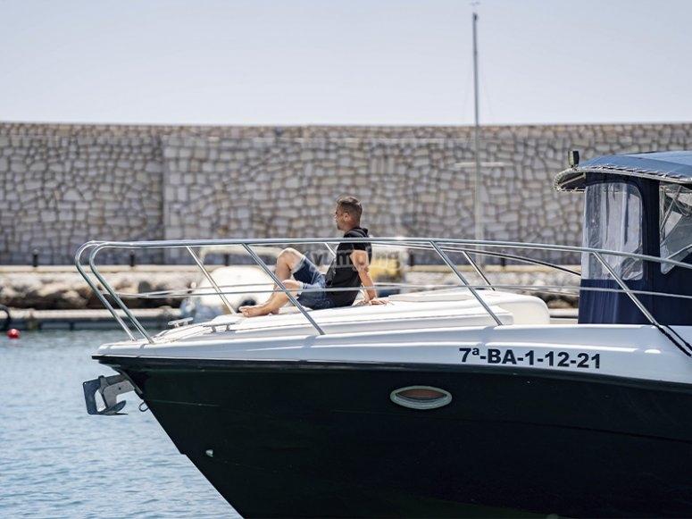 Barco de alquiler en Málaga