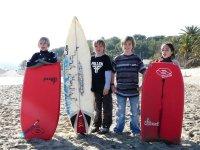 Pequeños surfers