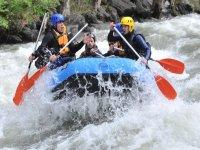 Descenso en rafting