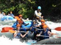 Diversion en rafting