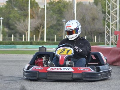 Super karting round in Magaluf 15 mins Adults