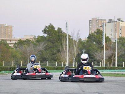Mini karting round in Magaluf 15 minutes Children