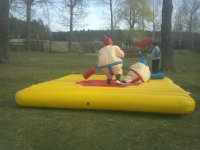 Inflatable ring fight