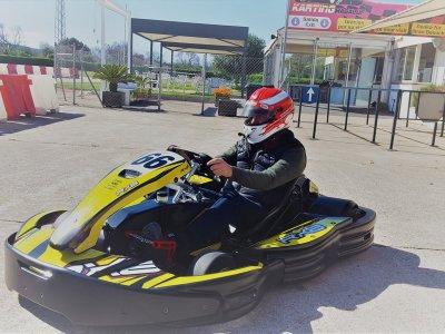 Junior karting round in Magaluf 15 minutes Niño