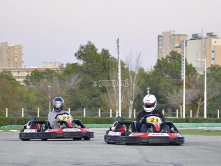Karts for children in Magalluf