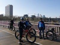 Bike route in Seville