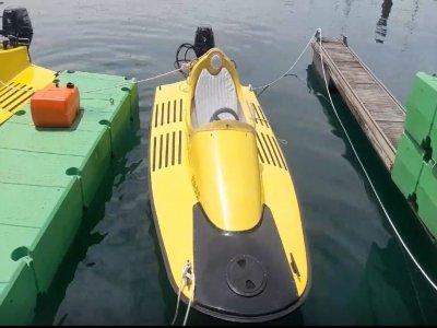 Ruta en hidrokart desde la costa de Gijón 1 hora