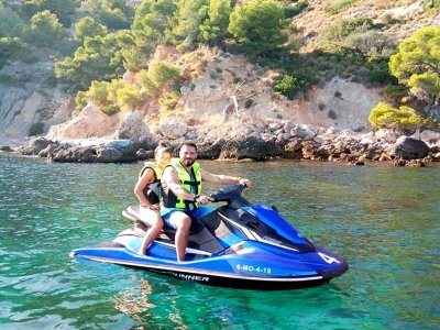 Ruta en moto de agua biplaza por Almuñécar 1 hora