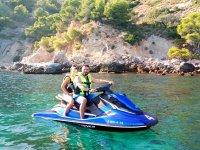 Ruta en moto de agua por Almuñécar