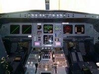 mandos de un avion