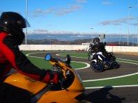 Conducción motocicletas