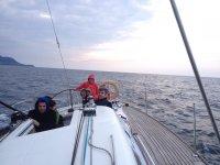Navigazione sulla barca a vela