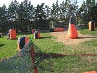 Campo de paintball portatil en Zaragoza