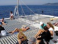fiestas catamaran