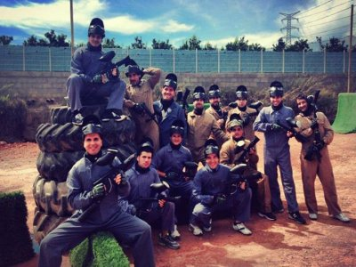 Paintball La Vall Despedidas de Soltero