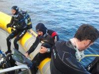 Preparativi per l'immersione