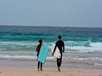 surf camp at sea