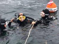 Battesimo delle immersioni a Gijon