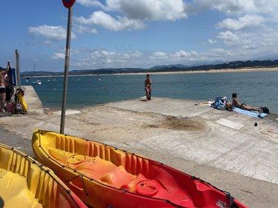 Alquiler kayak individual en Bahía de Santander 2h