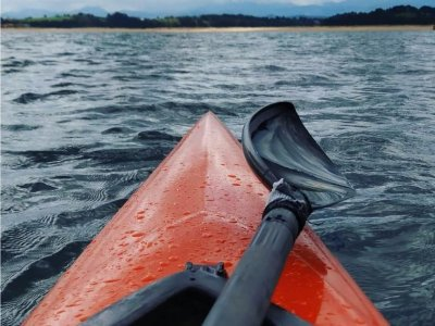 Alquiler de kayak doble en Bahía de Santander 2 h