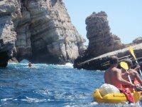 Excursión en kayak en Alicante