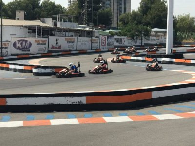 Karting Benidorm Team Building