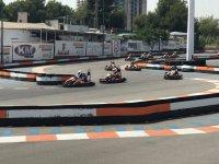 Competicion de karts en Benidorm
