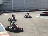 Pilotos en la curva en Benidorm