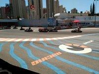 Salida de pista en karting de Benidorm