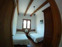 Uno de los dormitorios dobles