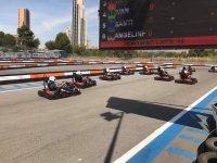Tabla de tiempos del karting en Benidorm