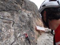 铁索攀岩通过在阿利坎特