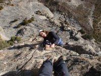 课程铁索攀岩在阿利坎特