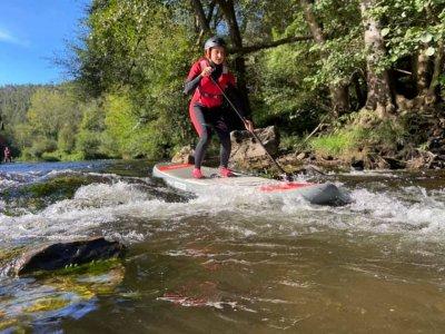 Ruta SUP por rápidos del río Eo en Ribadeo 2 horas