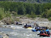 Rafting en grandes grupos