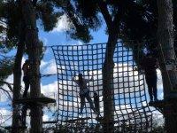 Red entre los arboles en La Juliana