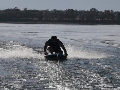 Cours de wakeboard en groupe Réservoir Gabriel y Galán 3 h