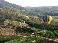 Balloon ride through the Ribeira Sacra