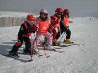 Cursos de esqui desde los mas pequenos