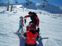Curso de esqui para los mas pequenos