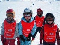 Aprenderan los secretos del esqui