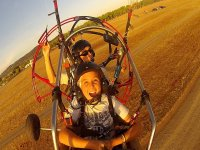 Take off on trike in Caceres