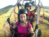 About Caceres in tandem paramotor