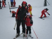 El esqui de fondo con ninos