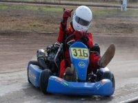 Karting dirt track in Zaragoza