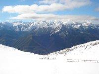 la montaña nevada