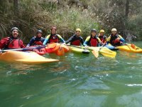 Group of canoeists